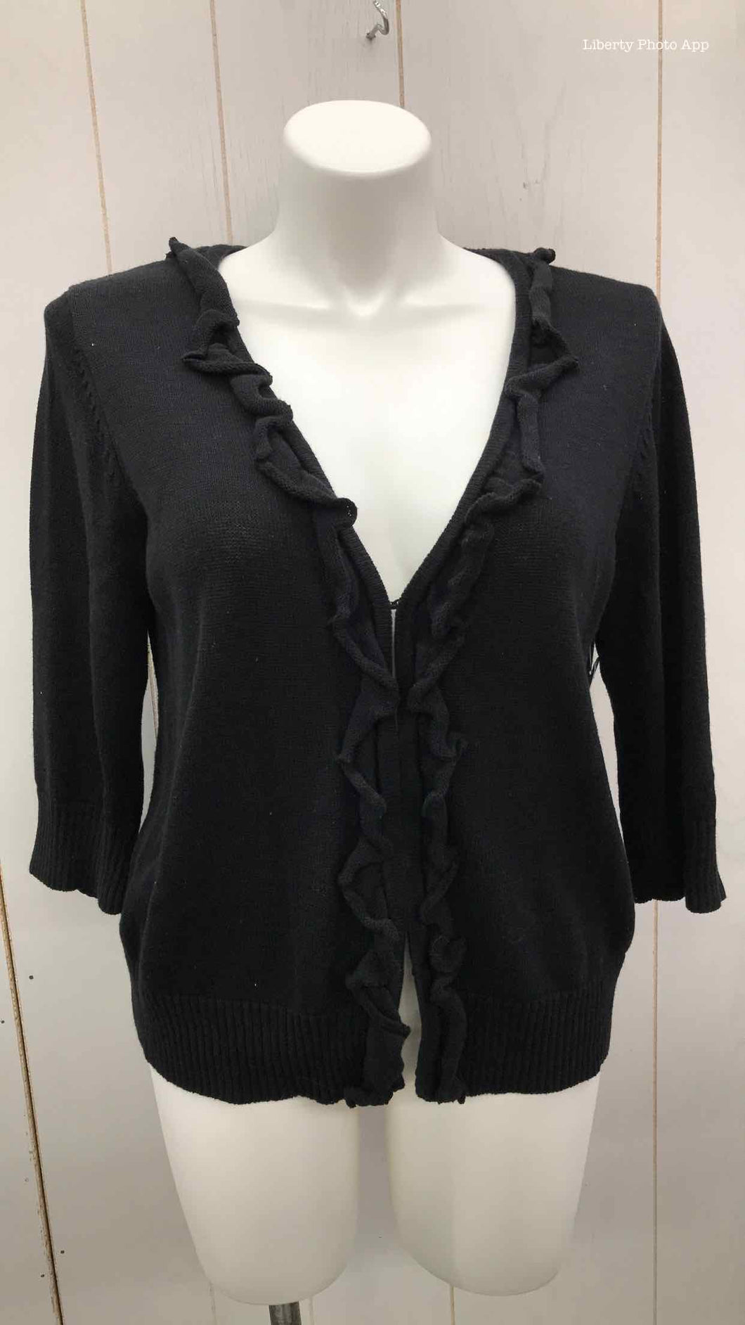 Coldwater Creek Black Womens Size 18 Sweater