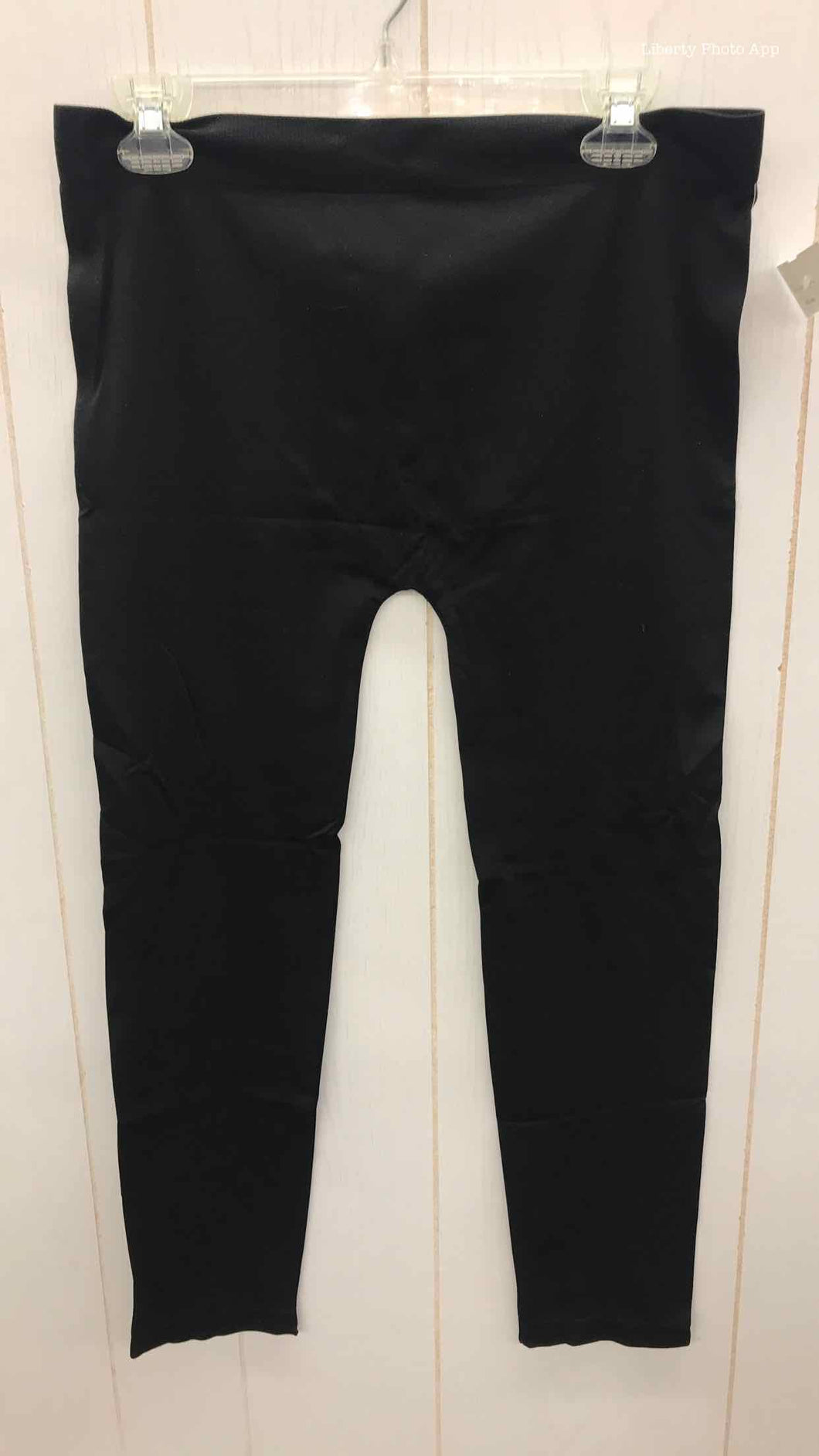 Black Active Basic Womens Size 18 Leggings