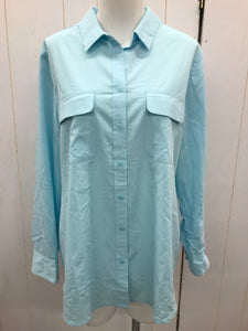 Chico's Blue Womens Blouse