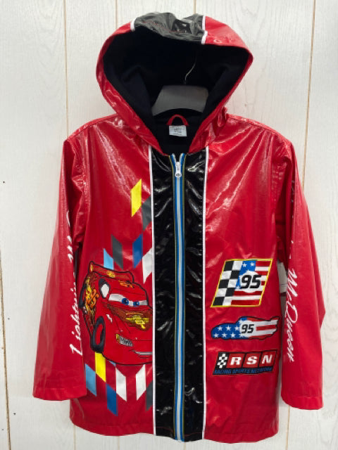 Disney Boys Size 10 Rain Jacket w/Hood