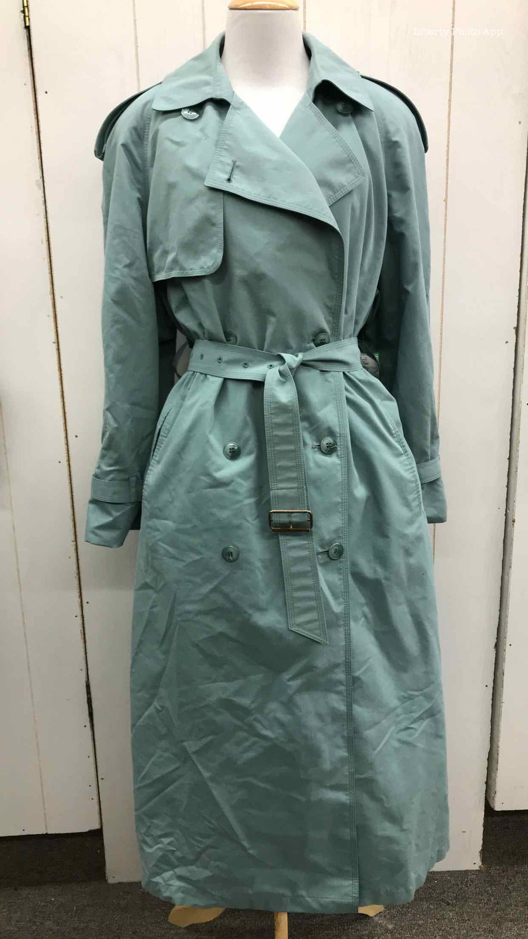 London Fog Green Womens Size 10 Jacket (Outdoor)