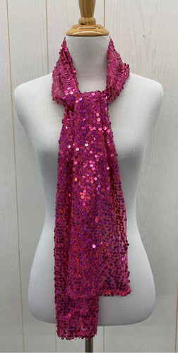 Scarf - Pink Sequin