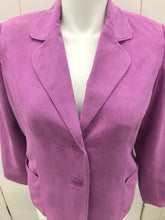 Load image into Gallery viewer, Purple Womens Size 14P Studio Works Blazer