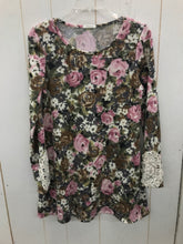 Load image into Gallery viewer, 12PM Mon Ami Floral Dress Womens 7/8