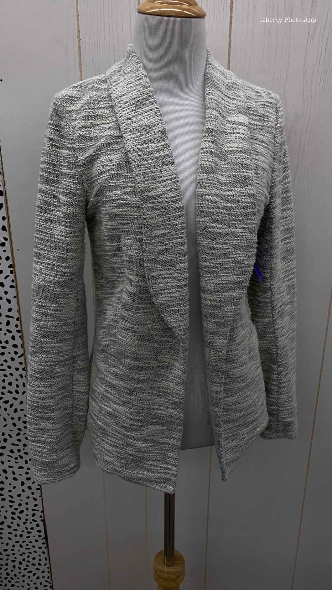 Maurices Gray Womens Size 4 Blazer