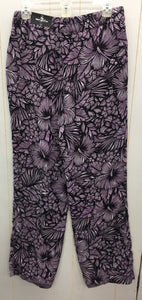 Worthington Purple Womens Pants Sz 6