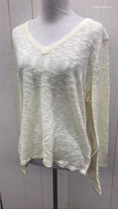Lumiere Cream Womens Size Small Sweater
