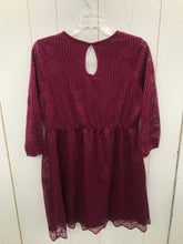 Load image into Gallery viewer, Maurices Burgundy Womens Size 6 Dress
