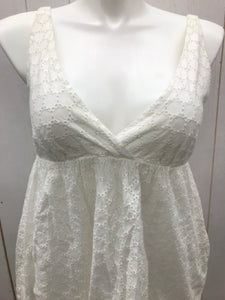 Old Navy White Womens Size 10 Dress