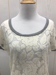 Delia's Cream Womens Shirt - Womens XS