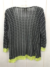 Load image into Gallery viewer, Chico's Black Womens Size L Shirt