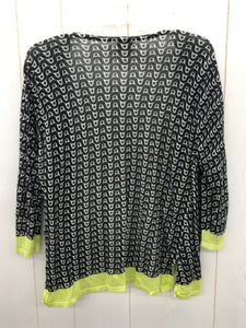 Chico's Black Womens Size L Shirt