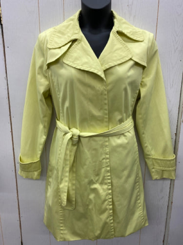 Nine West Yellow Womens Jacket - Sz XL