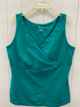 Load image into Gallery viewer, Eddie Bauer Green Womens Size L Shirt