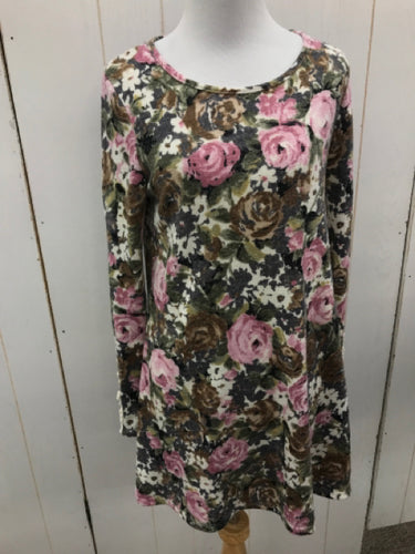 12PM Mon Ami Floral Dress Womens 7/8