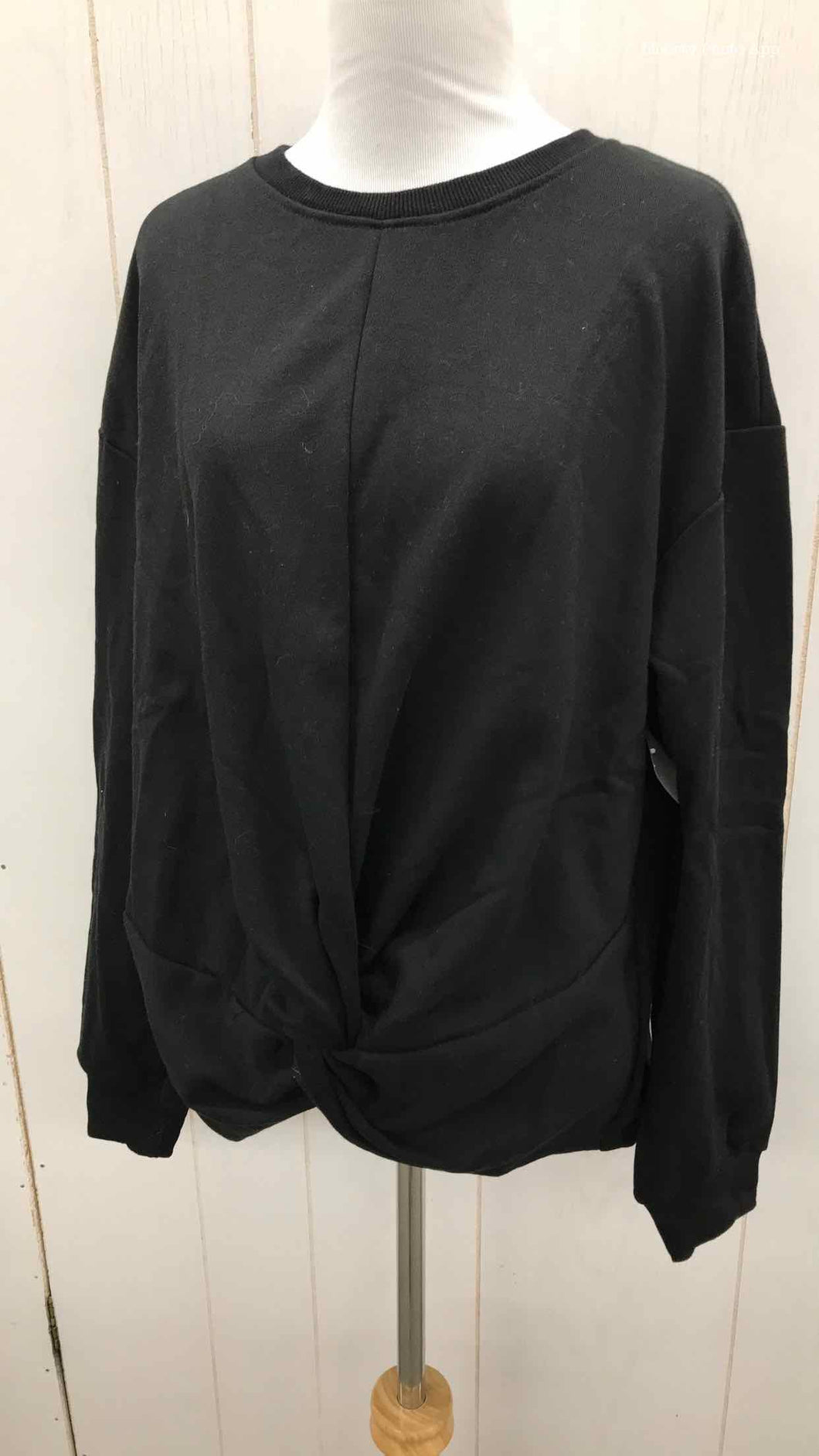Lumiere Black Womens Size Small Sweatshirt