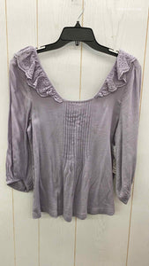 Melrose & Market Purple Womens Size XS Shirt