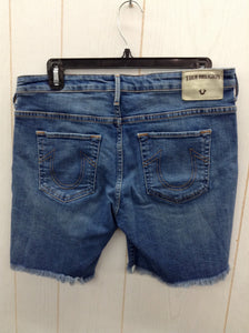 True Religion Blue Womens Shorts - Sz 29 - 6