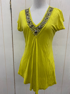 INC Green Size Small Womens Blouse