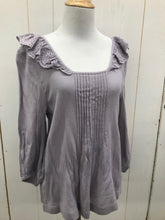 Load image into Gallery viewer, Melrose & Market Purple Womens Size XS Shirt