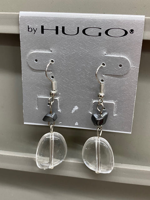 Earrings - Clear Drop - NEW