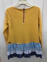 Load image into Gallery viewer, Matilda Jane Mustard Womens Size Small Shirt