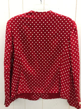 Load image into Gallery viewer, Liz Claiborne Red Womens Blazer - Vintage 10/12