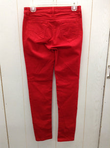 Rose Pistol Red Womens Size 2 Pants