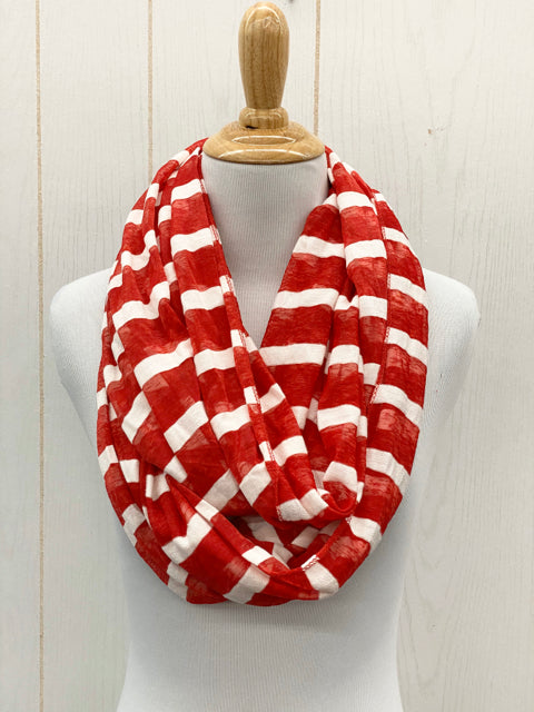 Scarf - Red/White Infinity