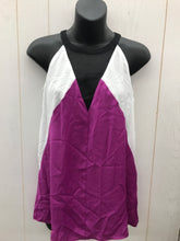 Load image into Gallery viewer, Worthington Purple/Black Womens Blouse - NEW - Sz Small