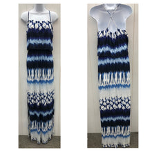 Load image into Gallery viewer, FELICITY & COCO Blue Womens Maxi Dress - NEW - Small