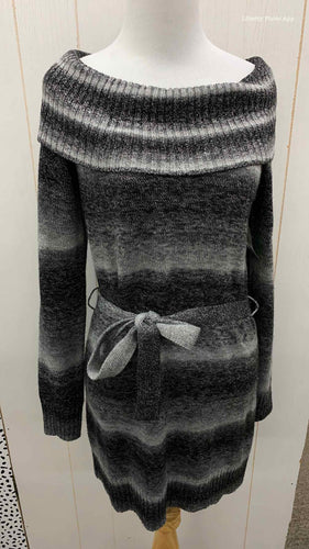 AGB Gray Womens Size 6P Dress