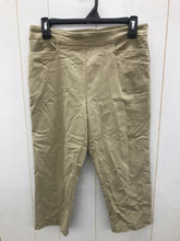 Load image into Gallery viewer, Time & Tru Khaki Womens Size 6 Pants