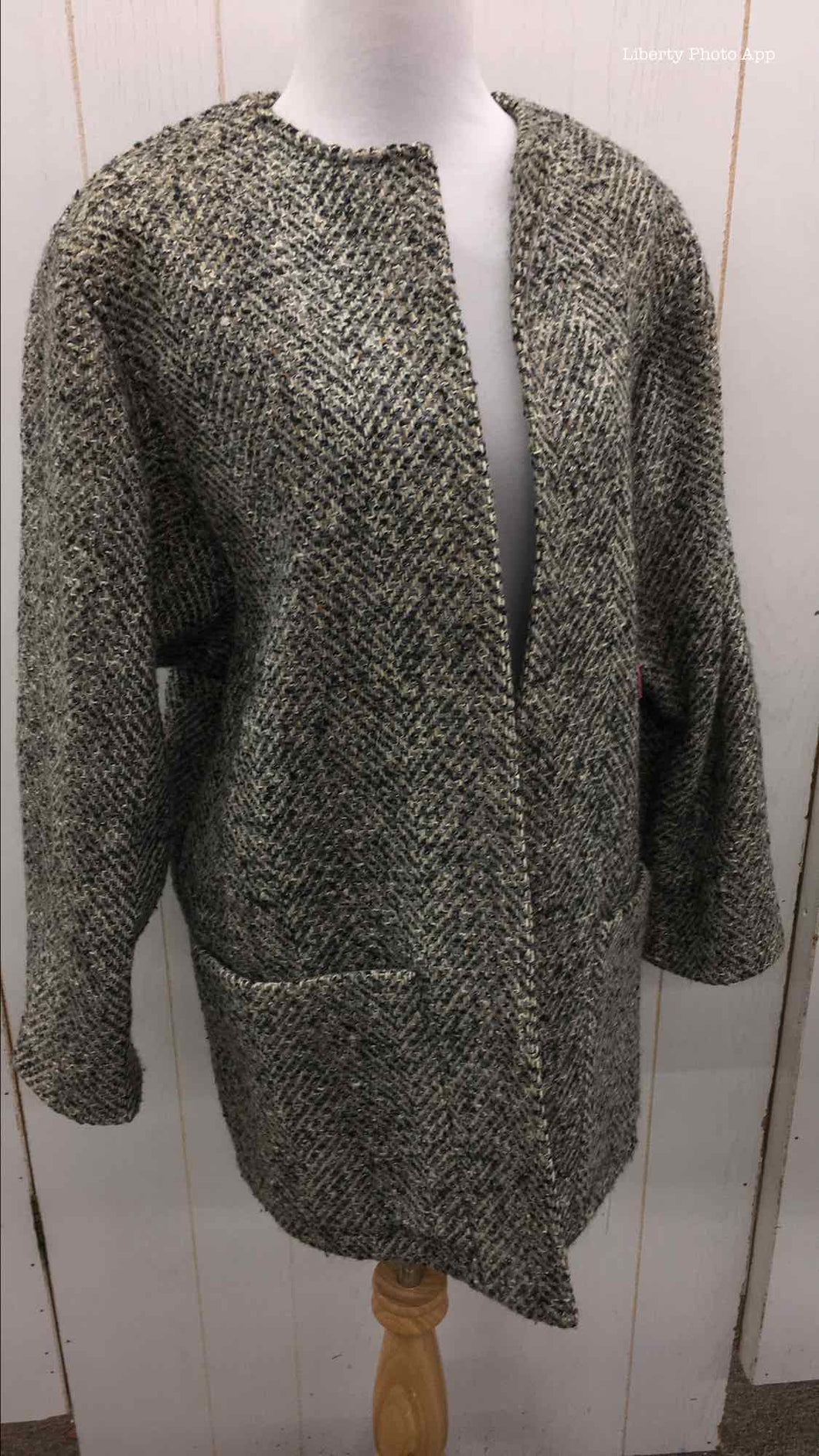 Gray Womens Size Small Jacket (Outdoor)