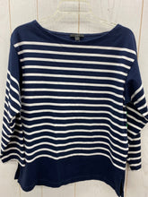 Load image into Gallery viewer, J Crew Navy Womens Size M Shirt