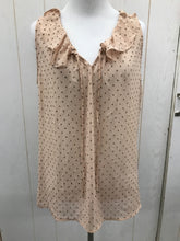 Load image into Gallery viewer, LOFT Peach Size M Womens Blouse