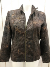 Load image into Gallery viewer, Erin London Brown Womens Size 12P Blazer