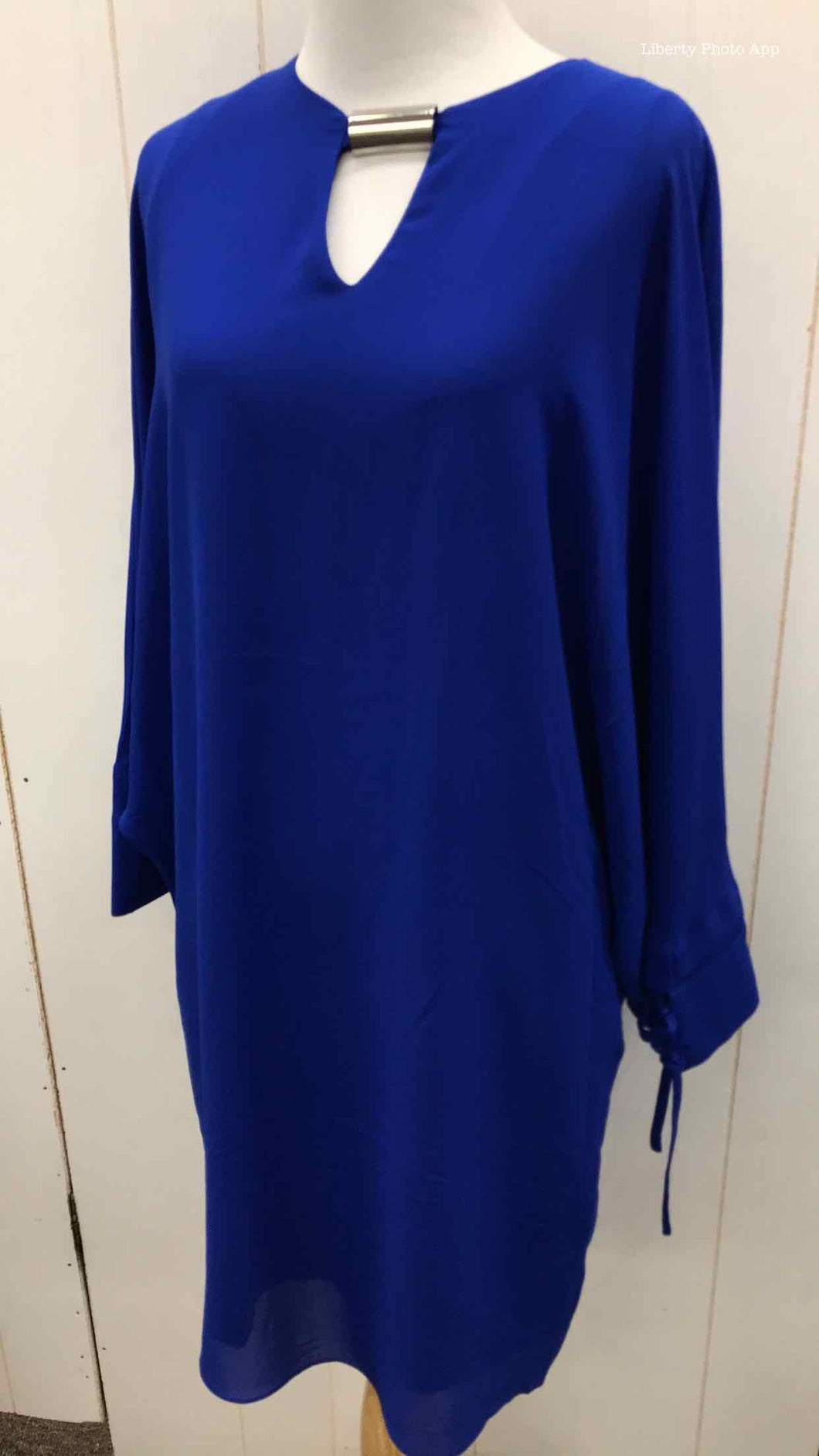 Blue Womens Size 2 Dress