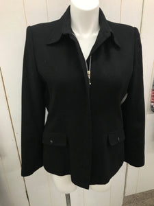 White Stag Black Womens Size 16 Jacket