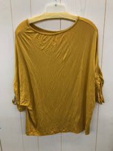 Load image into Gallery viewer, A&I Mustard Womens Size M Shirt