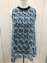Load image into Gallery viewer, Size XS Rachel Rachel Roy Blue Womens Shirt