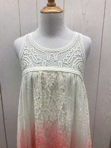 Cream Women Size 5/6 Dress