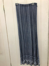 Load image into Gallery viewer, Size 8 Blue Womens Maxi Skirt