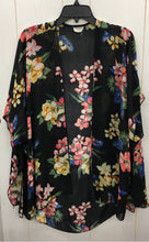 Load image into Gallery viewer, Emory Park Womens Kimono Blouse Cardigan Large