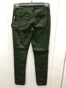 Articles of Society Olive Womens Size 0 Pants - NEW