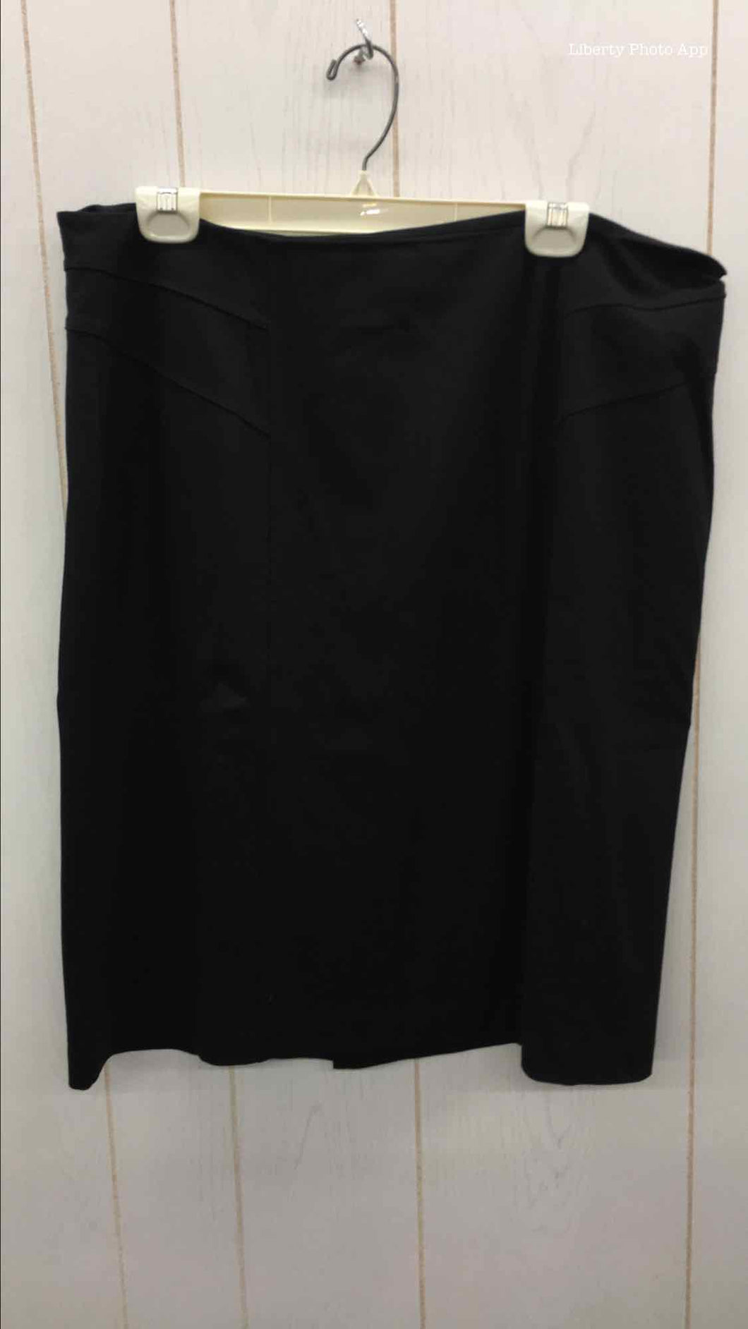 Chico's Black Womens Size 14 Skirt