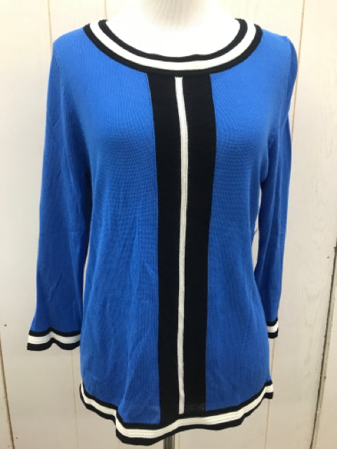 Worthington Blue Womens Size M/P Shirt