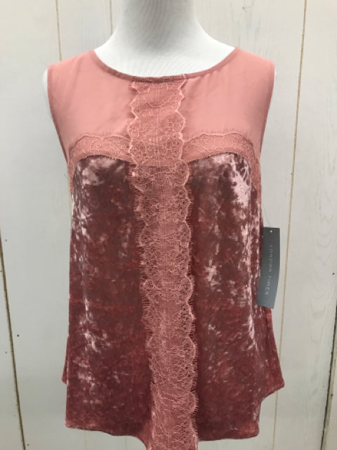 London Times Pink Women Size XS Tank Top