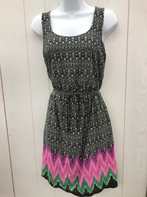 Maurices Black Print Womens Size Small Dress - NEW