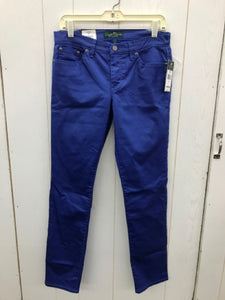 Ralph Lauren Blue Womens Size 6 Pants